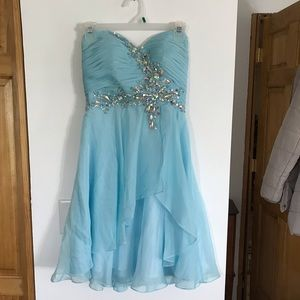 Light blue homecoming dress for sale!